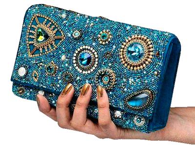 Confeccion de Carteras  de mano bordado